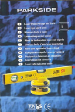 Laser Type Spirit Level with Tripod